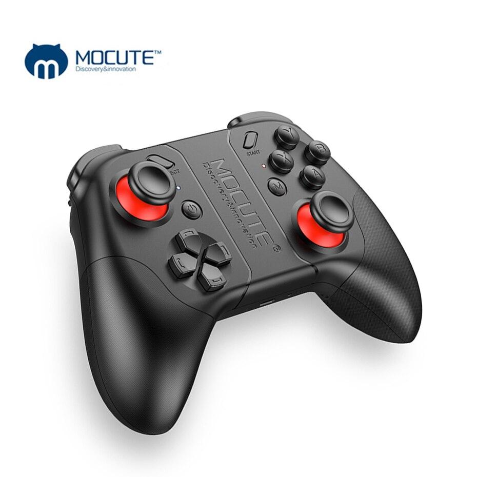 MOCUTE 053 VR Spiel Pad Wireless Bluetooth Controller Android Joystick Selfie Fernbedienung Gamepad für Android Telefon VR PC TV