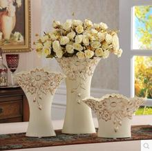 Ceramic vase living room TV ark set the small size of European large medium wedding gift