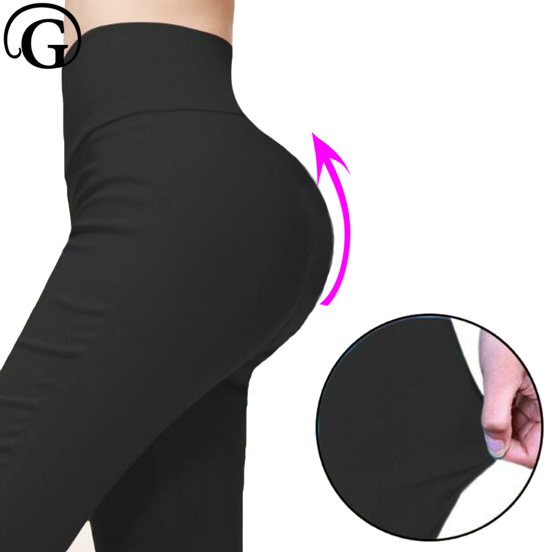 штаны Pencil Pants High Waist  Trousers PRAYGER For Women Classic 6XL Plus Size Skinny Trousers Female Slim Stretched Legging