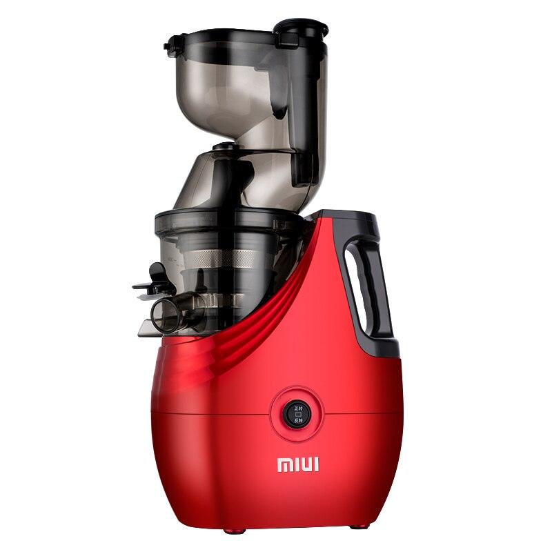 Maison Légumes Fruits Centrifugeuses Machine Citron presse-agrumes Électrique Extracteur De Jus 100% D'origine Ménage lente Centrifugeuses