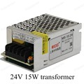 Лучшая Цена AC110V 220 В для DC 24 В 15 Вт Напряжение для Трансформатора Переключатель Питания Адаптер Драйвер для Света LED газа
