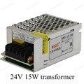 Mejor Precio AC110V 220 V para DC 24 V 15 W Voltaje para el Transformador Controlador del Adaptador de fuente de Alimentación del Interruptor para La Luz LED tira