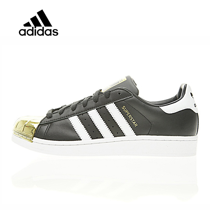 Original New Arrival Official Adidas Superstar Metal Toe Men's & Women's Comfortable Skateboarding Shoes Sport Sneakers BB5115 недорго, оригинальная цена