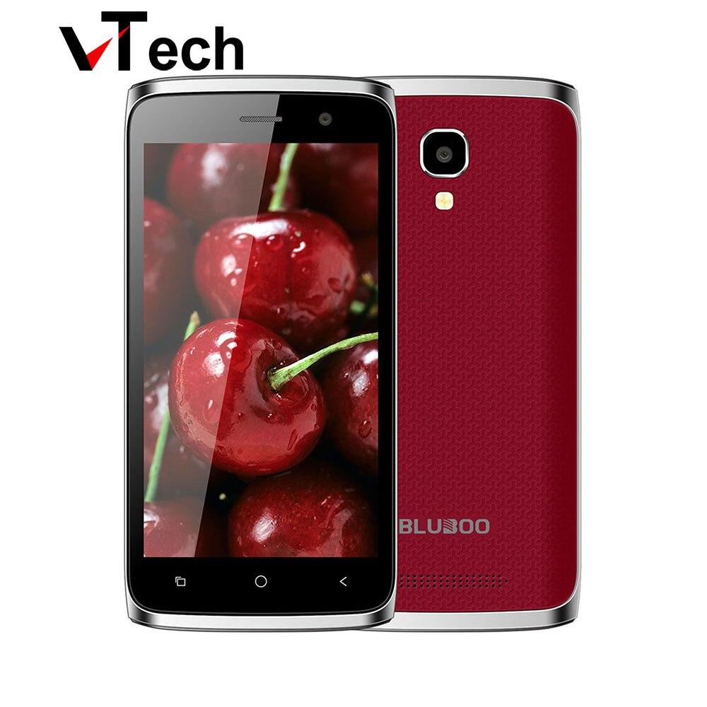 """Цена за Оригинальные BLUBOO Мини Android 6.0 3 Г WCDMA Смартфон MT6580M Quad Core 1.3 ГГц 1 ГБ + 8 ГБ 5.0MP 4.5 """"Дюймовый IPS Экран Dual SIM Телефон"""
