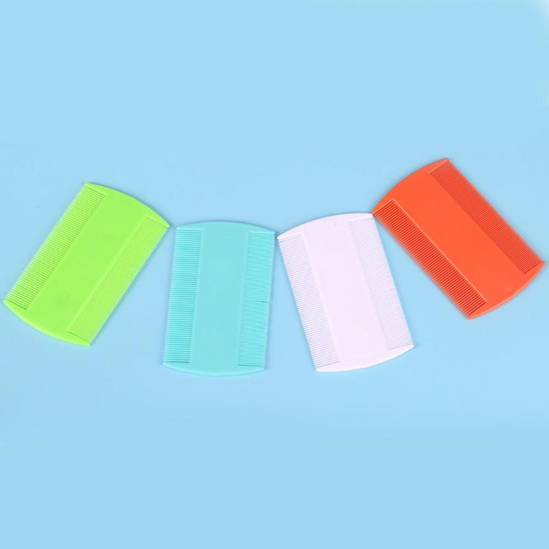 Double Sided Nit Comb Fine Tooth Head Lice Hair Combs For Kids Pet Flea