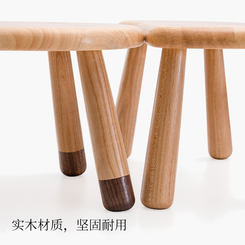 Lower Price with Nordic Solid Wood Childrens Gift Stool Small Wooden Bench Childrens Stool Small Bench Stool Home Cute Small Stool Children Furniture