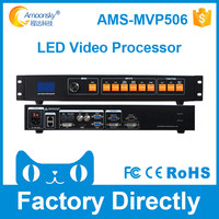 video wall controller AMS MVP506 Compare VDWALL LVP300 Support 1920*1080 pixels High quality LED display video Processor