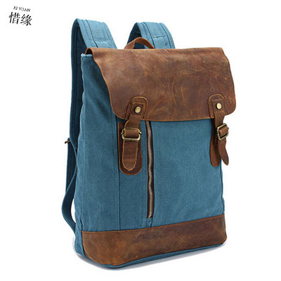 XIYUAN BRAND Large capacity man travel bag mountaineering backpack men hot pink bags canvas bucket unisex shoulder bag blue grey large capacity man travel bag mountaineering backpack men bags canvas bucket shoulder bag 012