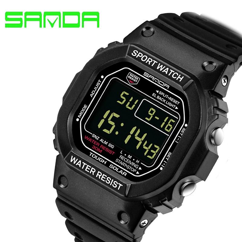 2016 New Brand Men Sports Watches Men Women LED Digital Watch Man Military Dive Waterproof Wristwatch