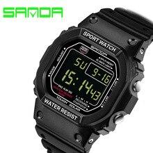 2016 Nuevos Hombres de la Marca Deportes Relojes Mujeres de Los Hombres LED Digital Reloj de Hombre de Buceo Militar Reloj Impermeable Reloj Relogio masculino