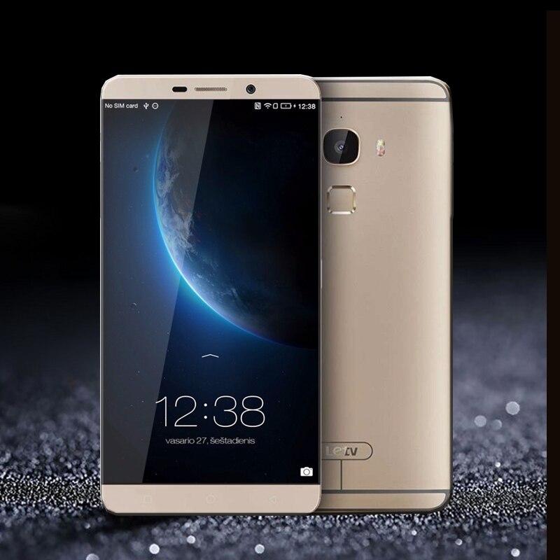 D'origine LeEco Letv Le Max X900 Snapdragon 810 Octa Core NFC 4 GO de RAM 128 GB ROM MobiIe Téléphone 2560*1440 Double SIM 20.1MP