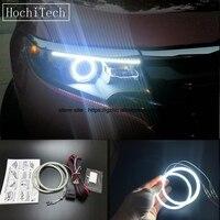 HochiTech Ultra bright SMD white LED angel eyes 2500LM 12V halo ring kit daytime running light DRL for Ford Edge 2011 2012