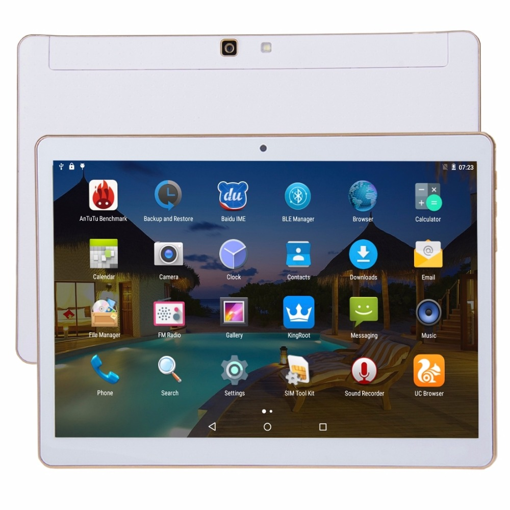 9.6 inch tablets Octa Core MTK8752 2GB + 32GB Android 5.1 4G LTE Phone Call Tablet PC, Dual SIM bluetooth wifi GPS OTG 9 10