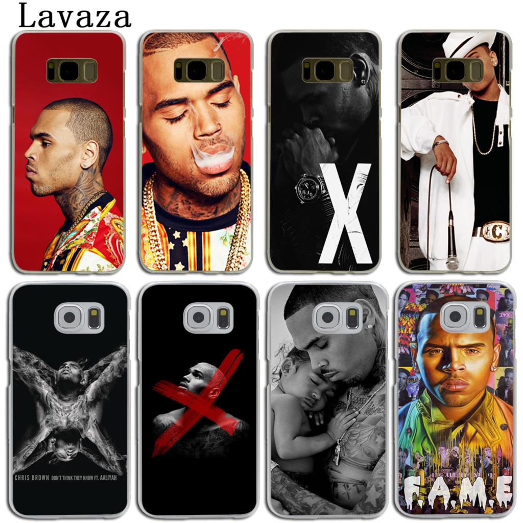 Lavaza Christopher Maurice Chris Brown Hard Skin Phone Shell Case for Samsung Galaxy S7 S6 Edge S3 S4 S5 & Mini S8 S9 Plus Cover ...