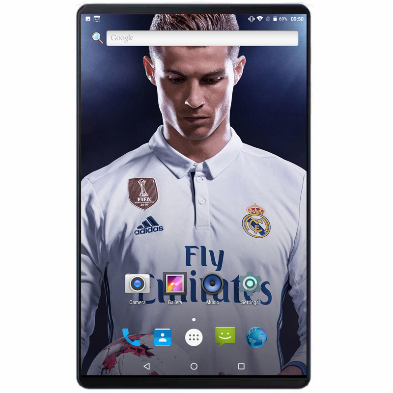 2019 Android 8.0 Version 10 Inch Tablet 1280*800 IPS Wifi 3G/4G LTE Phone Call MT8752 Dual SIM Card 4GB RAM 64GB ROM With Gifts