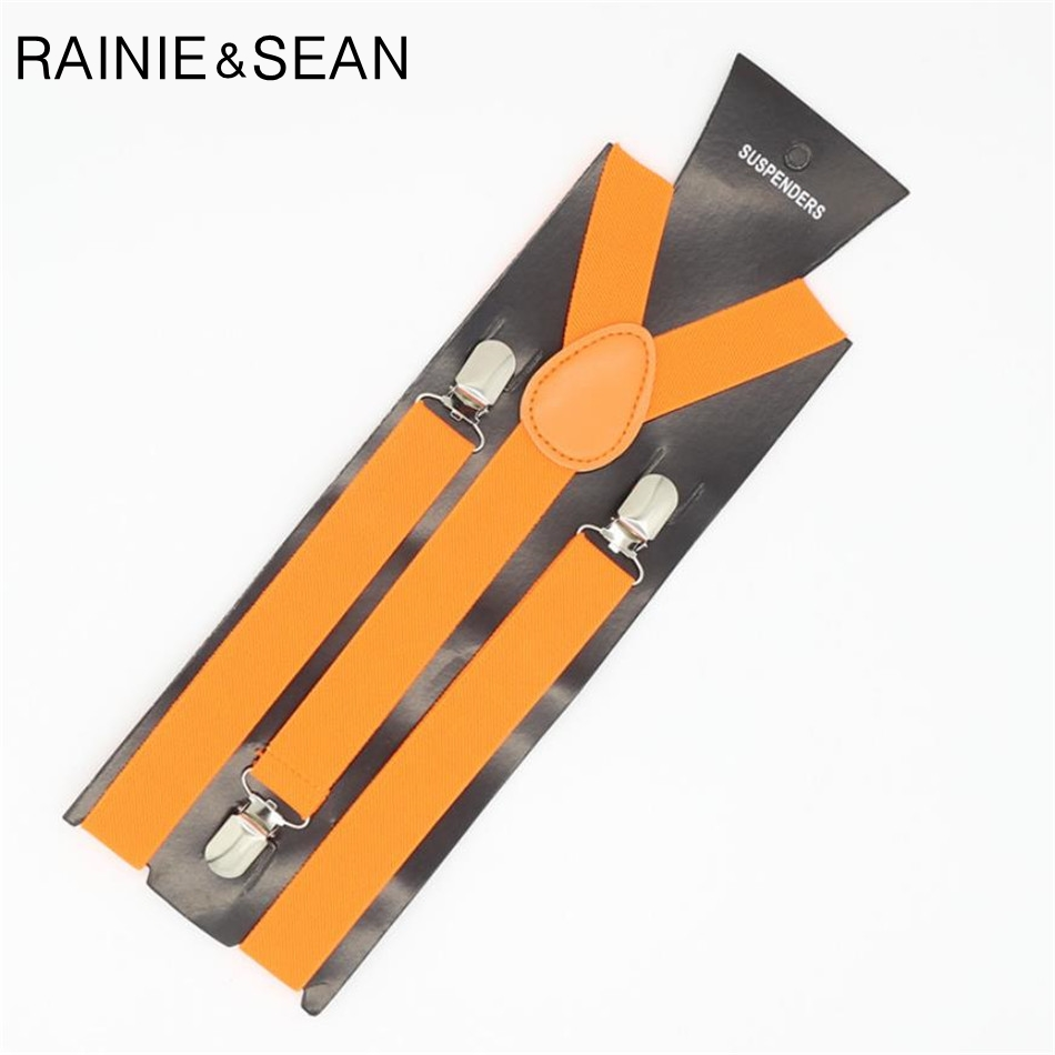 RAINIE SEAN Women Suspenders Belt For Trouser Solid Dress Braces Wedding British Style Suspenders For Woman Tirantes Black Red