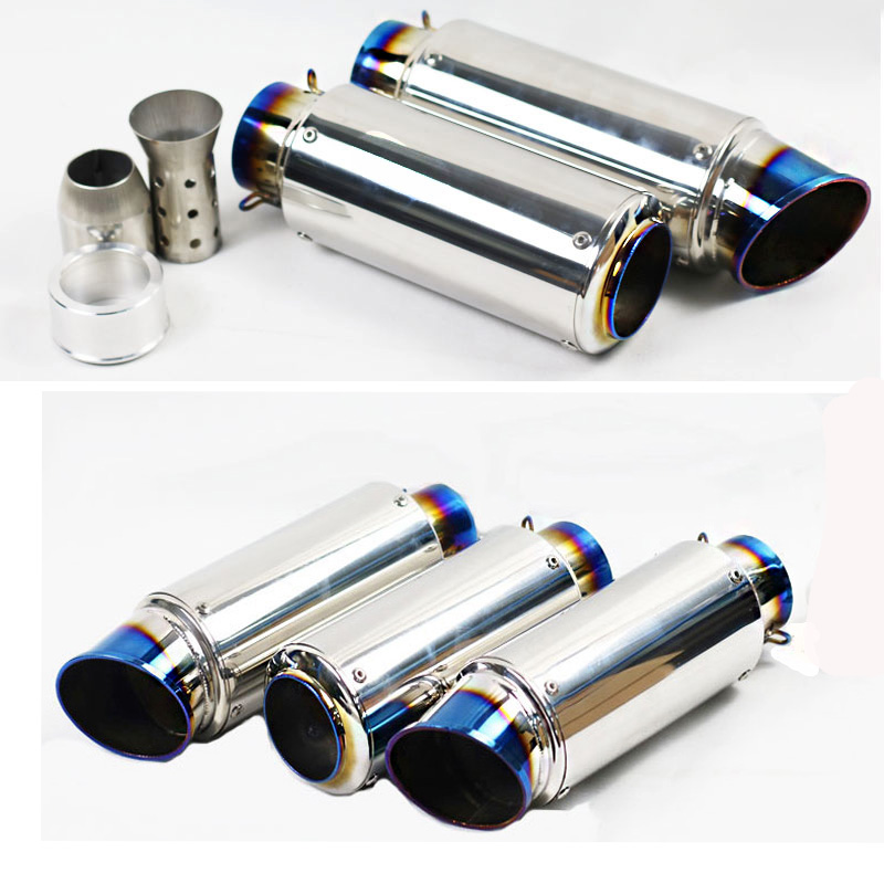 51MM 60MM Universal Motorcycle Exhaust For SC GP Project Exhaust Muffler With DB Killer For Escape