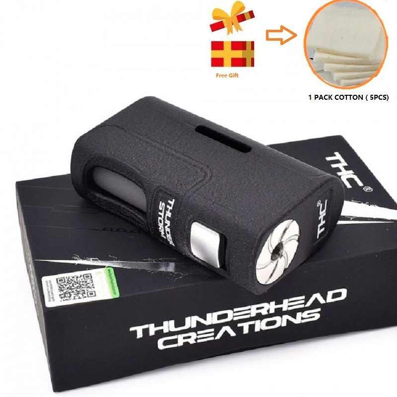 本物 Thunderhead 作成嵐 BF Squonker ボックス mod 20700/21700/18650 ための吸う RTA タンクアトマイザー電子タバコ