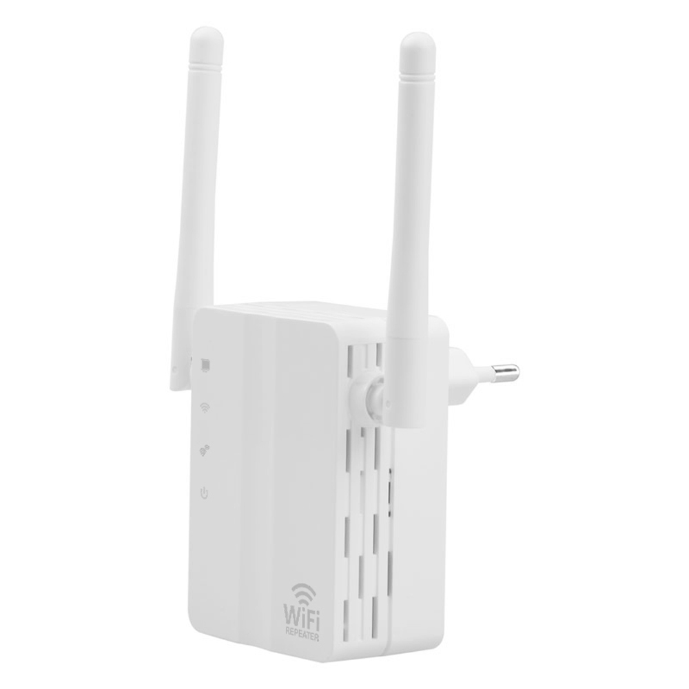 WD-R606U 300Mbps Wireless Range Extender WiFi Repeater Signal Booster Amplifier Wall Mounted Dual Antenna EU US Plug