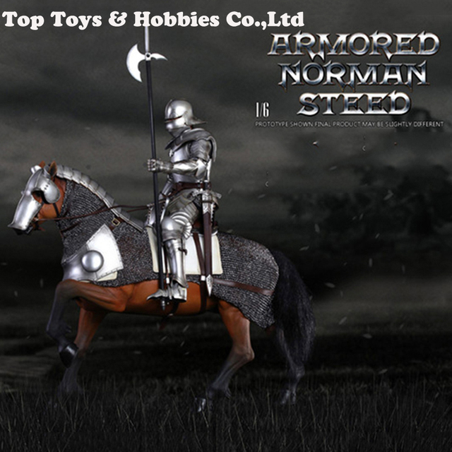 SE014 1/6 Alloy die-casting Empire series Gothic knight Armored war horse ; SE012 Series of Empires Gothic Knight Set 1/6 Scale