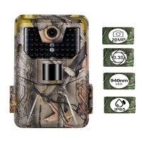 20MP 1080P Wildlife kamera obserwacyjna pułapki fotograficzne noktowizyjne kamery myśliwskie HC900A bezprzewodowy nadzór śledzący w Myśliwskie aparaty fot. od Sport i rozrywka na
