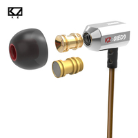 Original KZ Ed9 3D Stereo Earphone With Special Detachable Sound Chamber Handsfree Call For Android IOS