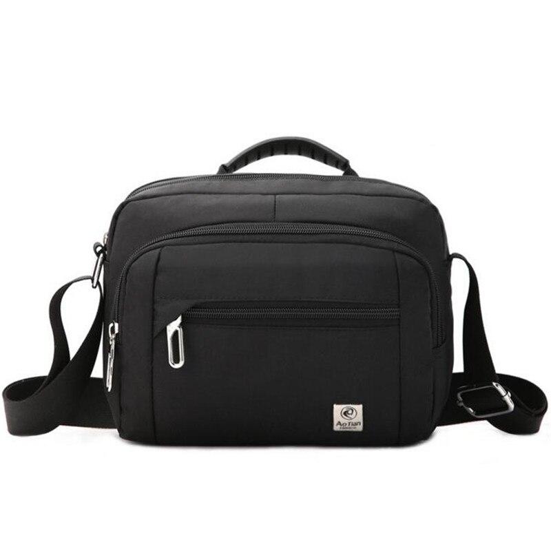 2018 New Men Messenger Bags Multifunction Nylon Handbag Big