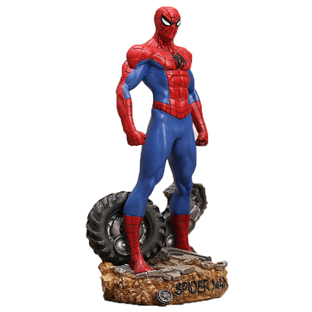 Super Hero Spider Man Brinquedos Anime Spiderman Action Figure Homem Aranha Collectible Model Boys Toy As Christmas Gift BN023