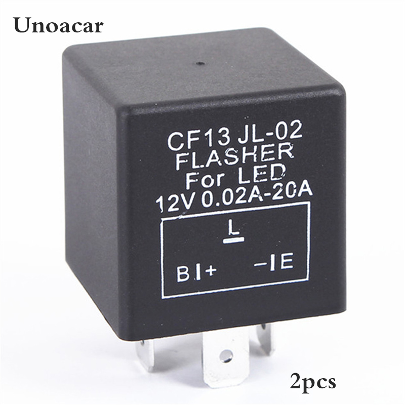 2pcs  Lot Electronic Car Flasher Relay 3 Pin Cf13 Jl 02