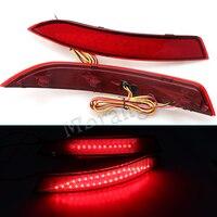 MZORANGE Braking Light LED Rear Light LED Tail Light For VW Sagitar Jetta 2012 2013 2014
