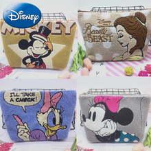 Disney New Fashion Women Handbag Mickey Alice Daisy Messenger Bag Cute Evening Shoulder Bags Clutch Purse Cosmetic Bag Girl Gift