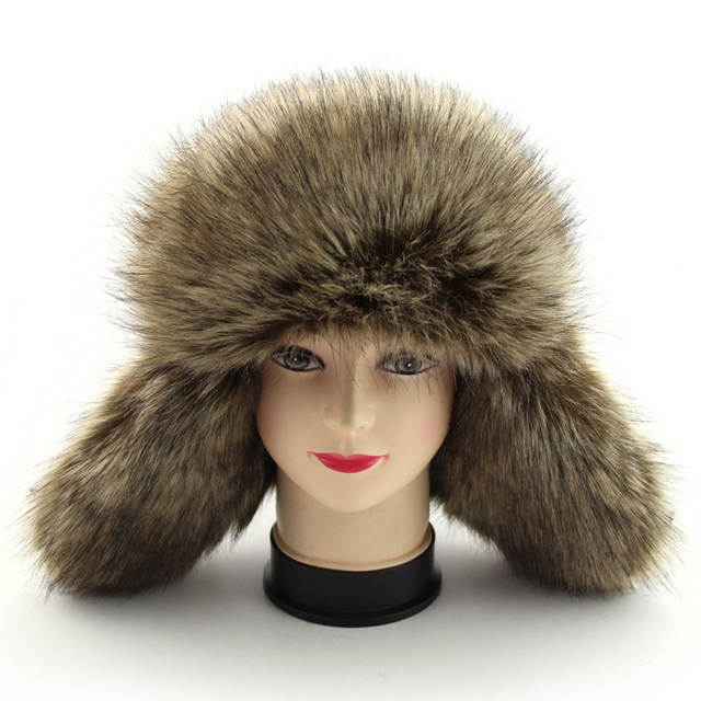BFDADI 2018 New Arrival Men women Hat Best Fashion Russian Winter Warm Ear  Flaps Bomber Hats 580e70230660