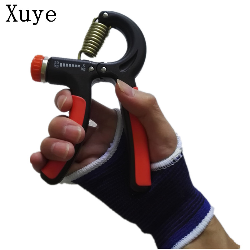 Xuye 5-50 Kg Expander  Wrist arms Forearm Training Adjustable Heavy Hand Grips Gripper Gym Fitness exercise Portable Hand Grip