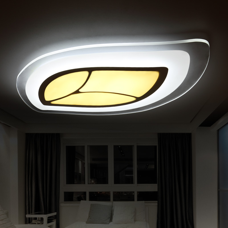 Simple modern childrens bed room led acrylic ceiling light bedroom baby room light personality kindergarten lamps