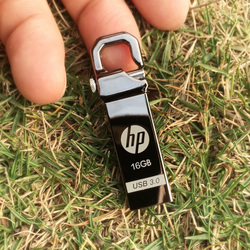 Hp x750w usb flash drive usb 3.0 32 gb de alta velocidade de metal USB Stick 32 gb Pendrive Flash Drive Logotipo Personalizado Para O áudio Do Carro mp3 clé usb