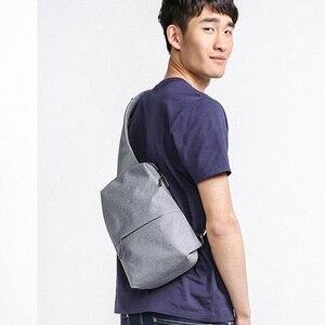 Image 4 - Nieuwe Originele Xiaomi Rugzak Tas Urban Leisure Borst Pakken Voor Mannen Vrouwen Schouder Type Unisex Rugzak Voor Game Pad Zak reizen
