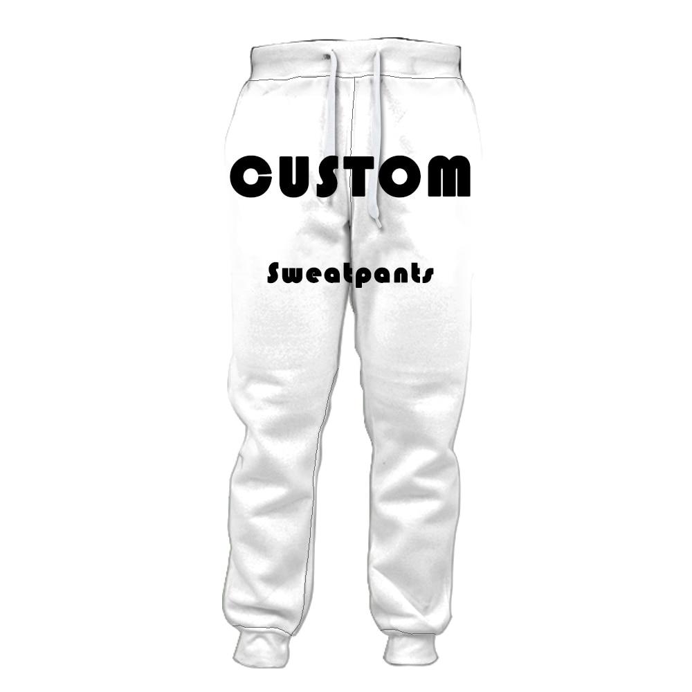 Jogger Pants Custom 3D All Print Fashion Mens Bermuda Funny Men Homme Fun Sweatpants Factory Outlet Free Shipping