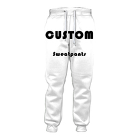 Jogger Pants Custom 3D All Print Fashion Mens Bermuda Funny Men Homme Fun Sweatpants factory Outlet free shipping