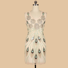 BLINGSTORY New Summer Large Size Slim Sequins Disc Embroidery Flower Club Womens Summer Dresses Dropshipping BY89004