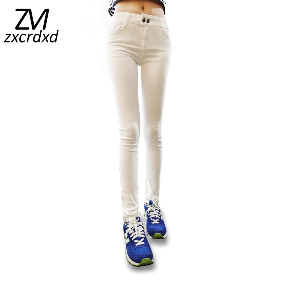 Hot Sale Mid-Waist High Elastic Sexy Jeans Women Skinny Slim Lifting hips Pencil Denim Pants Fashion Pantalones Vaqueros Mujer