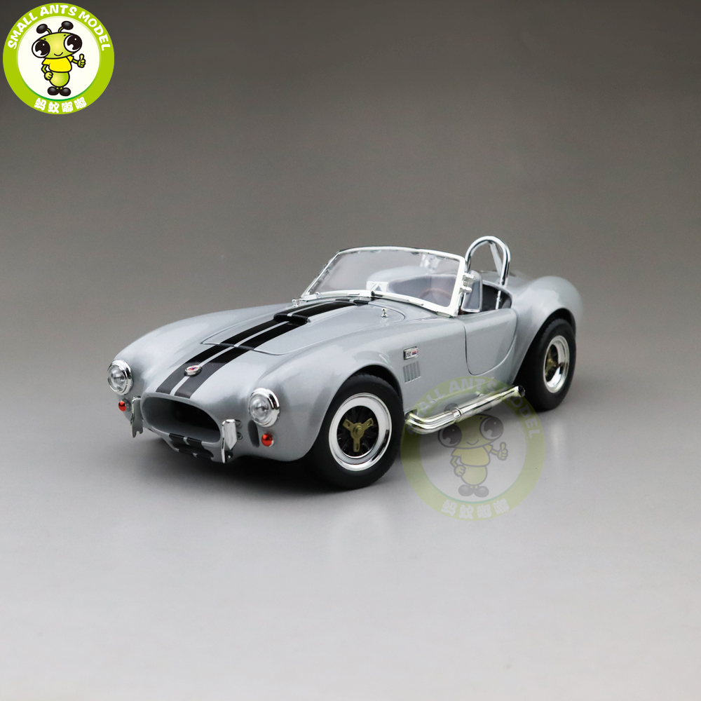 1/18 1964 Ford Shelby COBRA 427 S/C Road Signature Diecast Model Car Toys Boys Girls Gift