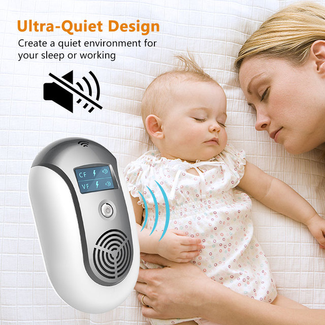 Electronic Pest Control Ultrasonic Pest Repeller Home Anti Mosquito Repellent Killer Rodent Bug Reject Mole Mice EU/US/UK plug