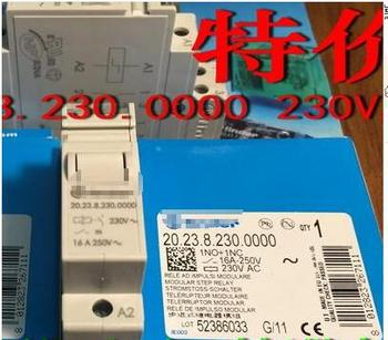 Free Shipping 2pcs/LOT 20.23.8.230.0000-230VACSPST- is normally open and SPST- normally closed  time relay