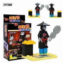 Naruto Shippuden's Building Block minifigures