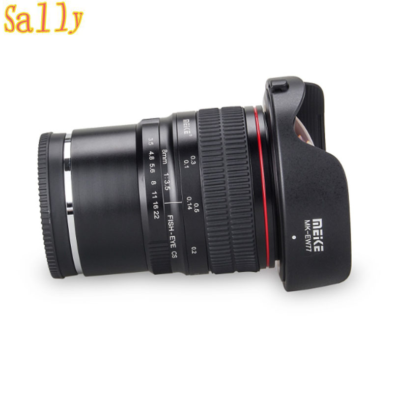 Meike 12mm f/2.8 Ultra Wide Angle Fixed Lens with Removeable Hood for Sony Mirrorless E Mount