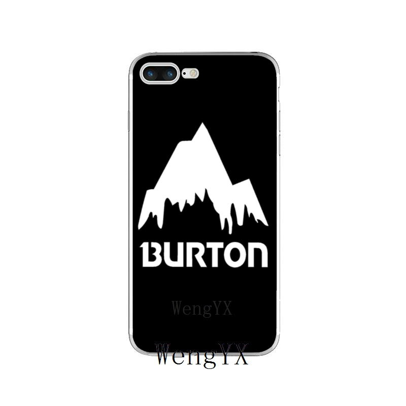 white snow camo burton snowboard iphone case