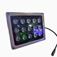 15 pcs 42mil Array leds infrared light Night vision IR illuminator Outdoor Waterproof for CCTV Surveillance Camera