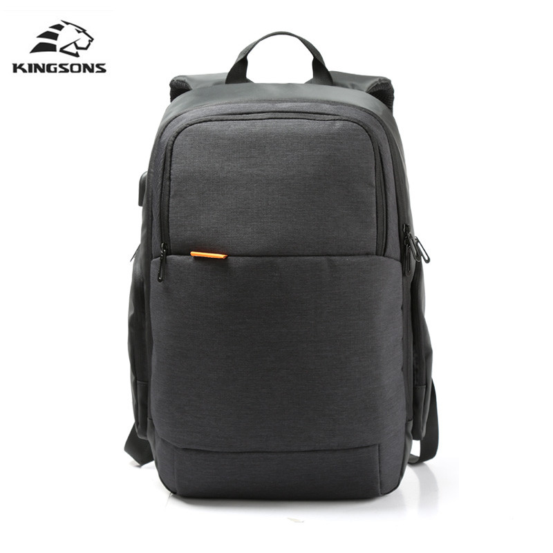 Kingsons Brand External USB Charge Laptop Backpack Anti-theft Notebook Computer Bag 15.6 inch for Business Men and Women платок leo ventoni платок