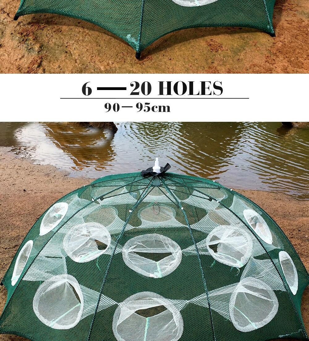 automático pesca camarão armadilha de pesca net