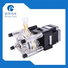 PC Transparent Electric Peristaltic  Pump Liquid Detergent Chemicals Dosing Large Flow 0-1615ml/min стоимость